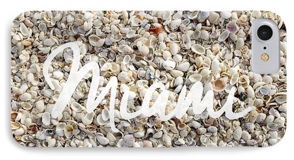 Miami Seashells IPhone Case by Edward Fielding
