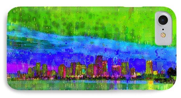 Miami Skyline 102 - Pa IPhone Case