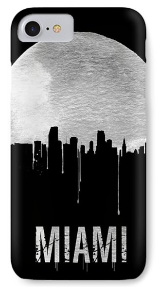 Miami Skyline Black IPhone 7 Case