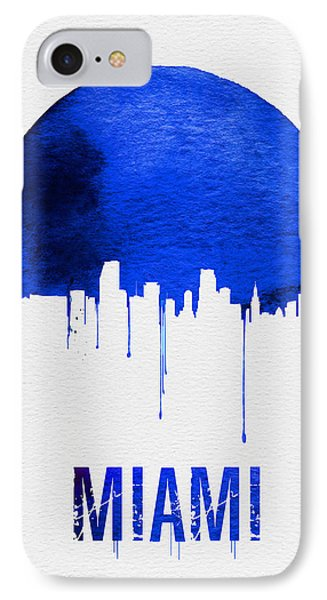 Miami Skyline Blue IPhone 7 Case