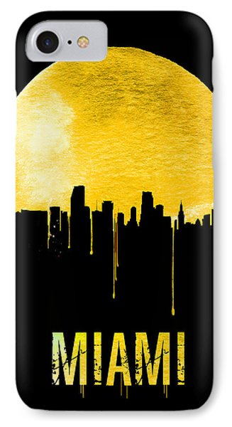 Miami Skyline Yellow IPhone 7 Case