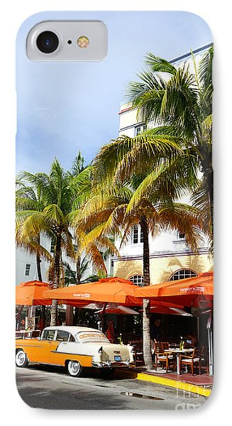 Miami South Beach Ocean Drive 8 IPhone Case