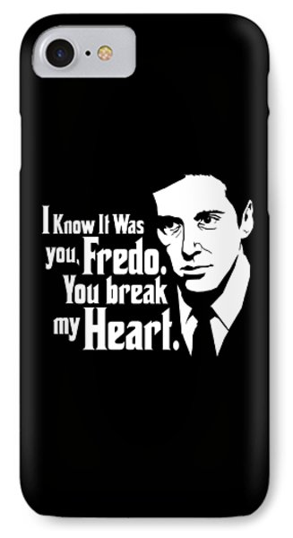 Michael Corleone IPhone Case by Mos Graphix