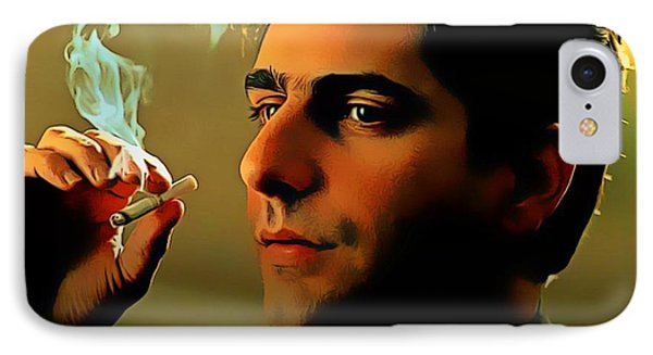 Michael Imperioli As Chris IPhone Case by Pd