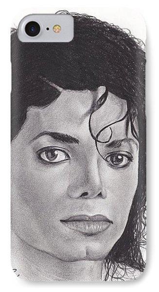 Michael Jackson IPhone Case by Dipesh Ambekar