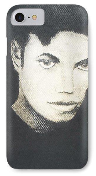 Michael Jackson Phone Case by M Valeriano
