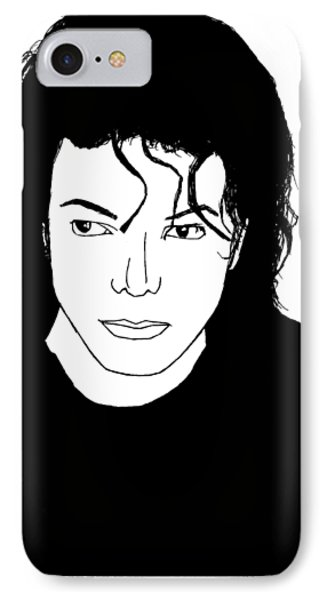Michael Jackson IPhone Case by Lionel B