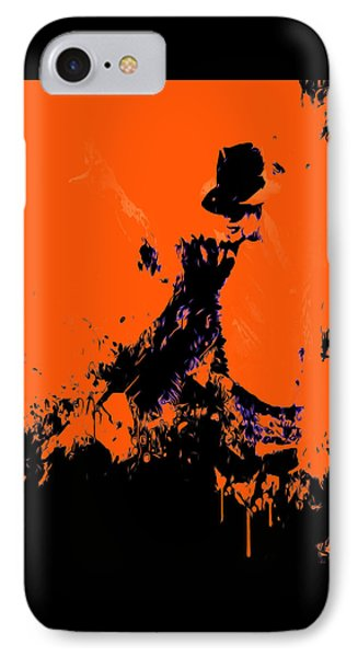 Michael Jackson Paint Splatter 4b IPhone Case