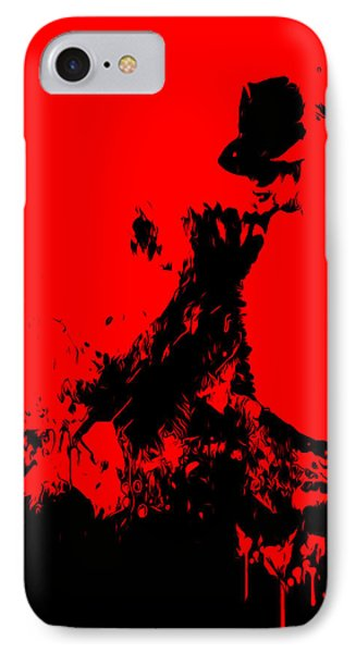 Michael Jackson Paint Splatter 4c IPhone Case