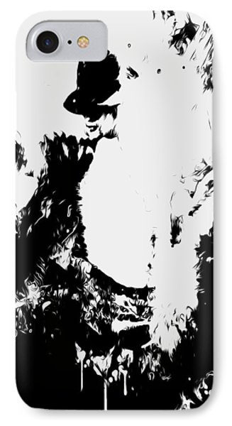 Michael Jackson Paint Splatter 4e IPhone Case