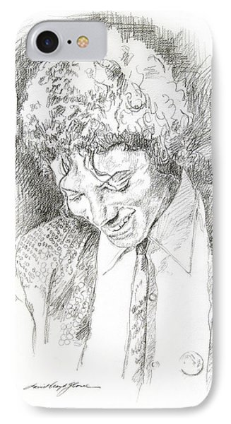 Michael Jackson - Remember The Time IPhone Case by David Lloyd Glover