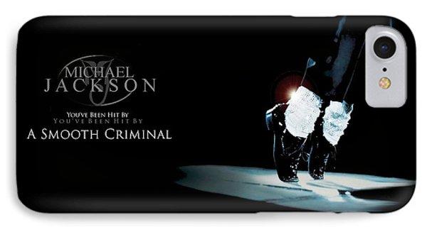 Michael Jackson - Smooth Criminal-30 IPhone Case by Jovemini ART