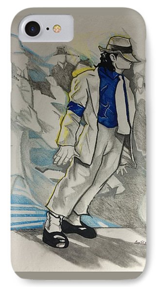 Michael Jackson - Smooth Criminal  IPhone Case by Gregory Taylor
