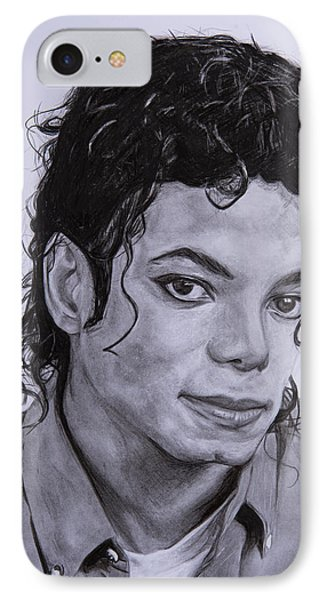 Michael Jackson IPhone Case by Steph Maiden