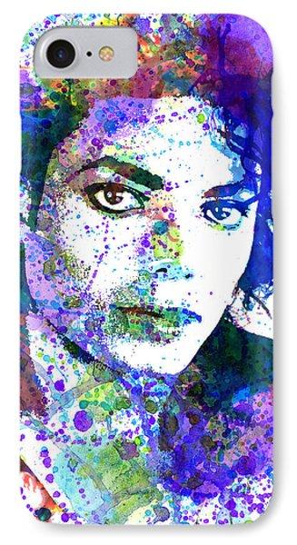 Michael Jacksons IPhone Case by Dante Blacksmith