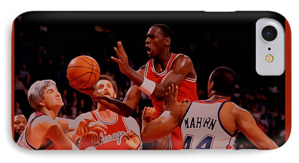 Michael Jordan 1984 Rookie Year IPhone Case