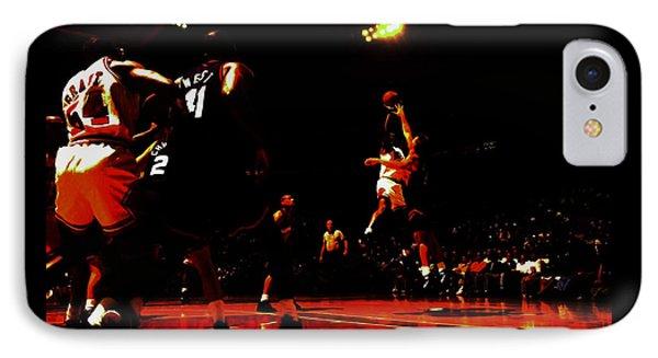 Michael Jordan 3 Seconds Left IPhone Case