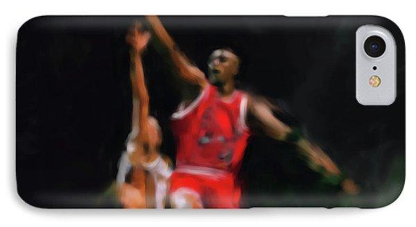 Michael Jordan 548 1 IPhone Case by Mawra Tahreem
