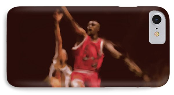Michael Jordan 548 2 IPhone Case by Mawra Tahreem