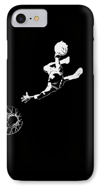 Michael Jordan Above The Rim 1 IPhone Case