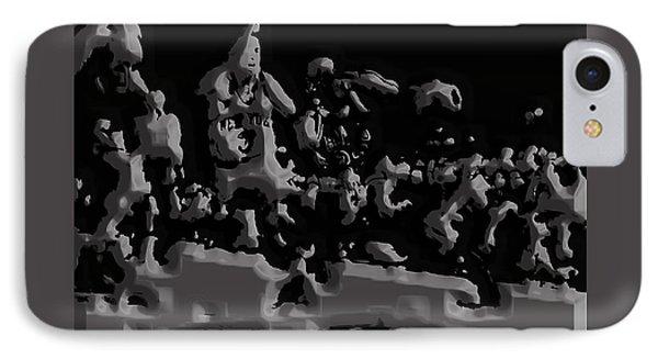 Michael Jordan Aluminum Casting 1a IPhone Case