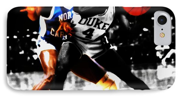 Michael Jordan As A Tarheel IPhone Case