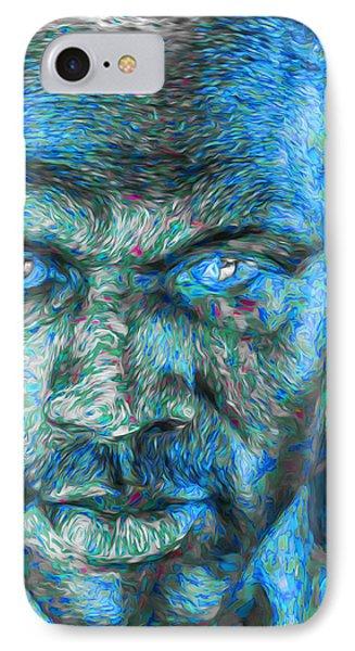 Michael Jordan Digital Painting 3 IPhone Case by David Haskett