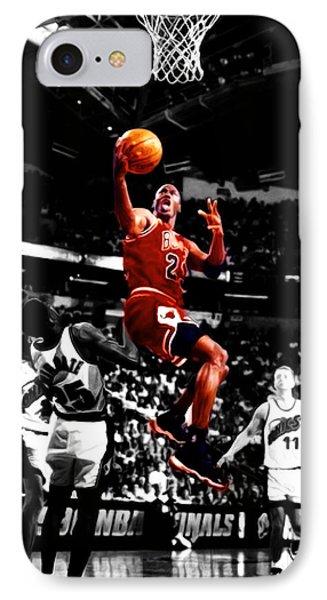 Michael Jordan Flight Path IPhone Case
