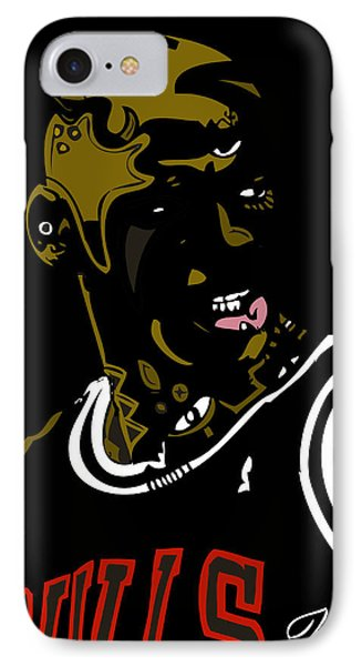 Michael Jordan Phone Case by Kamoni Khem