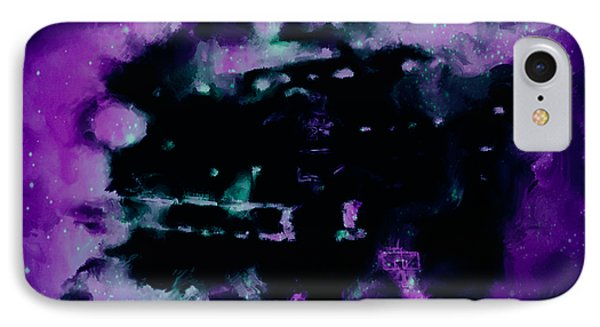 Michael Jordan Nebula IPhone Case by Brian Reaves