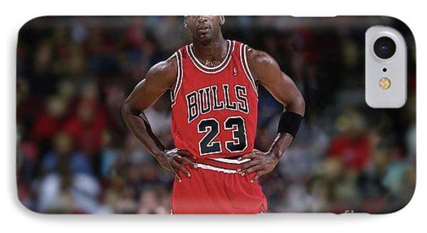 Michael Jordan, Number 23, Chicago Bulls IPhone Case