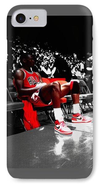 Michael Jordan Ready To Go II IPhone Case