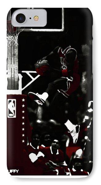 Michael Jordan Rise And Shine IPhone Case