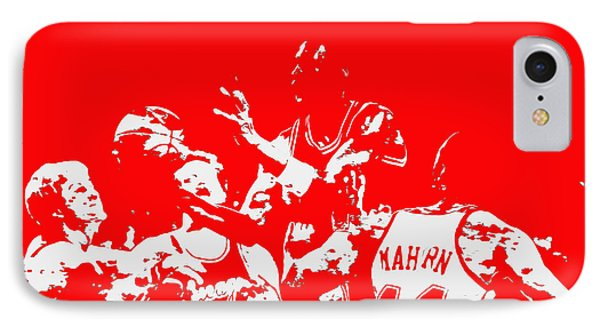 Michael Jordan Style And Grace 2 IPhone Case by Brian Reaves