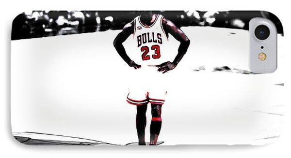 Michael Jordan The One Man Show IPhone Case