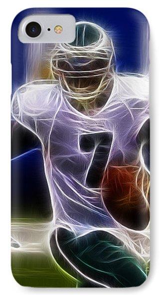 Michael Vick - Philadelphia Eagles Quarterback Phone Case by Paul Ward