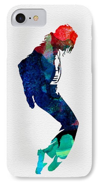Michael Watercolor IPhone 7 Case by Naxart Studio