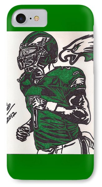Micheal Vick Phone Case by Jeremiah Colley