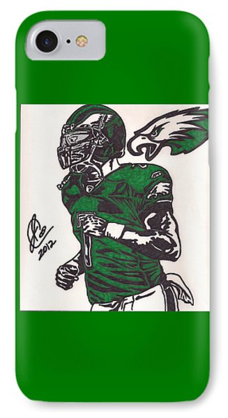 IPhone Case featuring the drawing Micheal Vick by Jeremiah Colley
