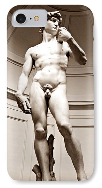 Michelangelo's David IPhone Case