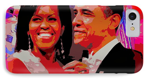 Michelle And Barack IPhone Case