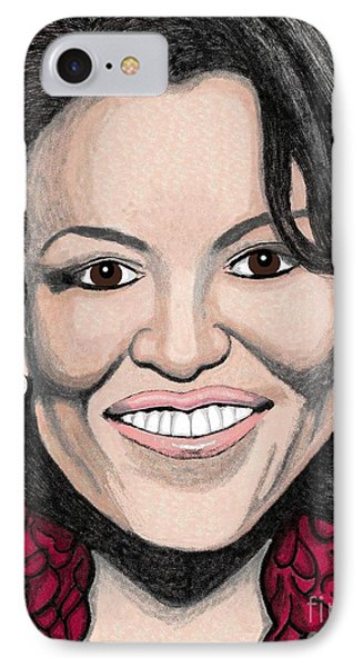Michelle Obama IPhone Case by Richard Heyman