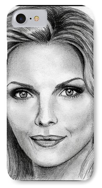 Michelle Pfeiffer In 2010 Phone Case by J McCombie