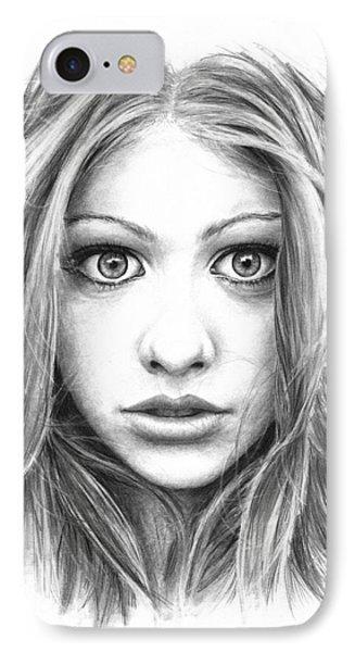 Michelle Trachtenberg IPhone Case by Ryan Jones