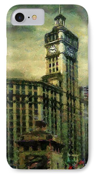 Michigan Avenue Afternoon IPhone Case