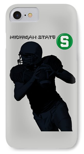 Michigan State Football Phone Case by David Dehner