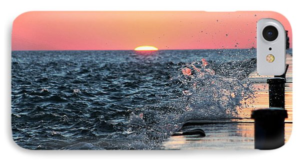 Michigan Summer Sunset IPhone Case by Bruce Patrick Smith