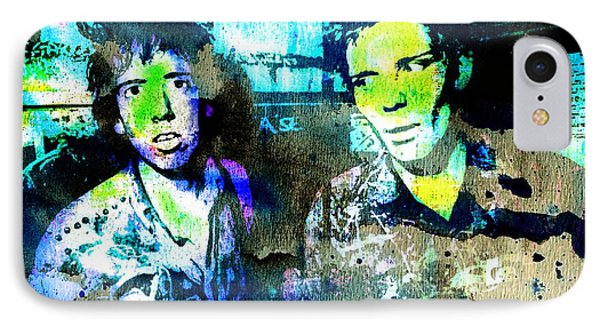 Mick And Paul 2 IPhone Case
