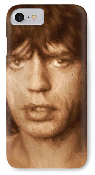 Mick Phone Case by Dan Sproul