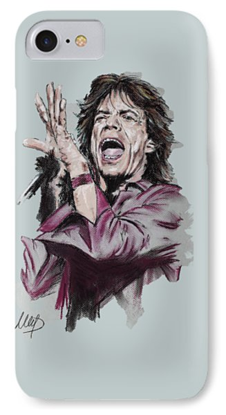 Mick Jagger IPhone Case